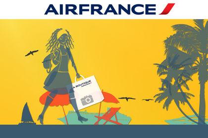 Spot publicitaire animé pour Air France