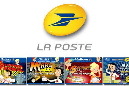 Web-série animée pour La Poste