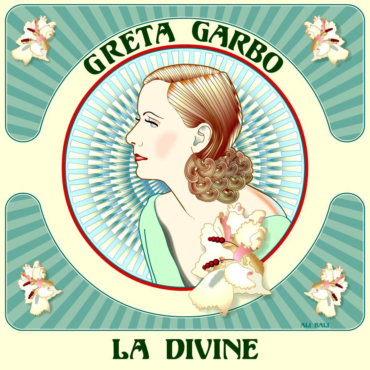 Portrait Greta Garbo