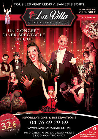 Charte graphique Cabaret restaurant
