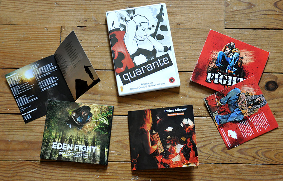 Habillage Pochettes cd et DVD