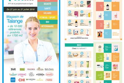 Création de catalogue produits / Parapharmacie