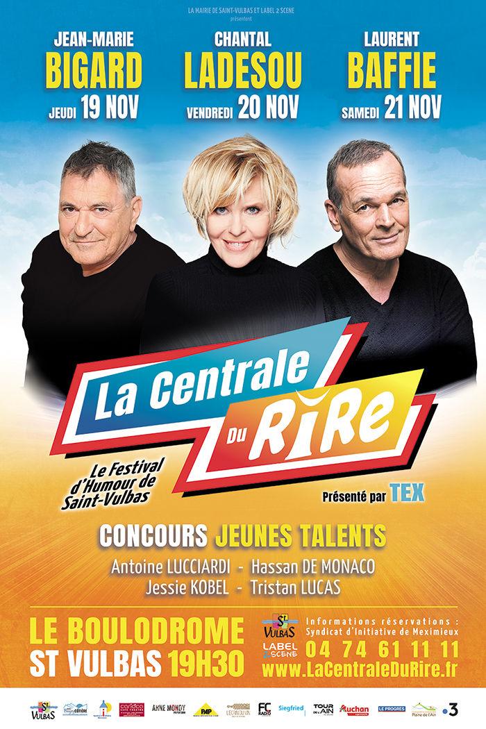 Charte graphique Festival La Centrale du Rire 2020