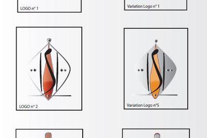 Variations pour un logotype de bijoux africains