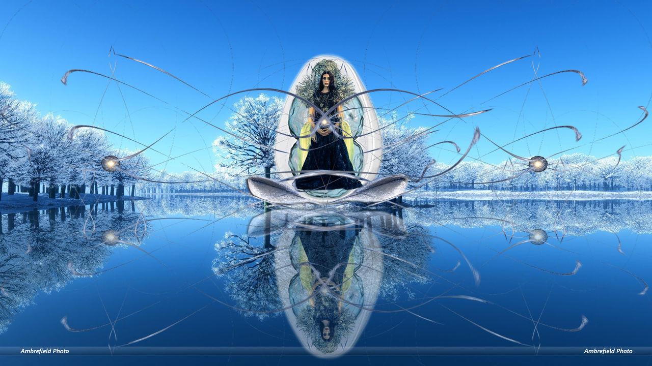 Montage photo : Gordana Reine des neiges, Ambre/NP