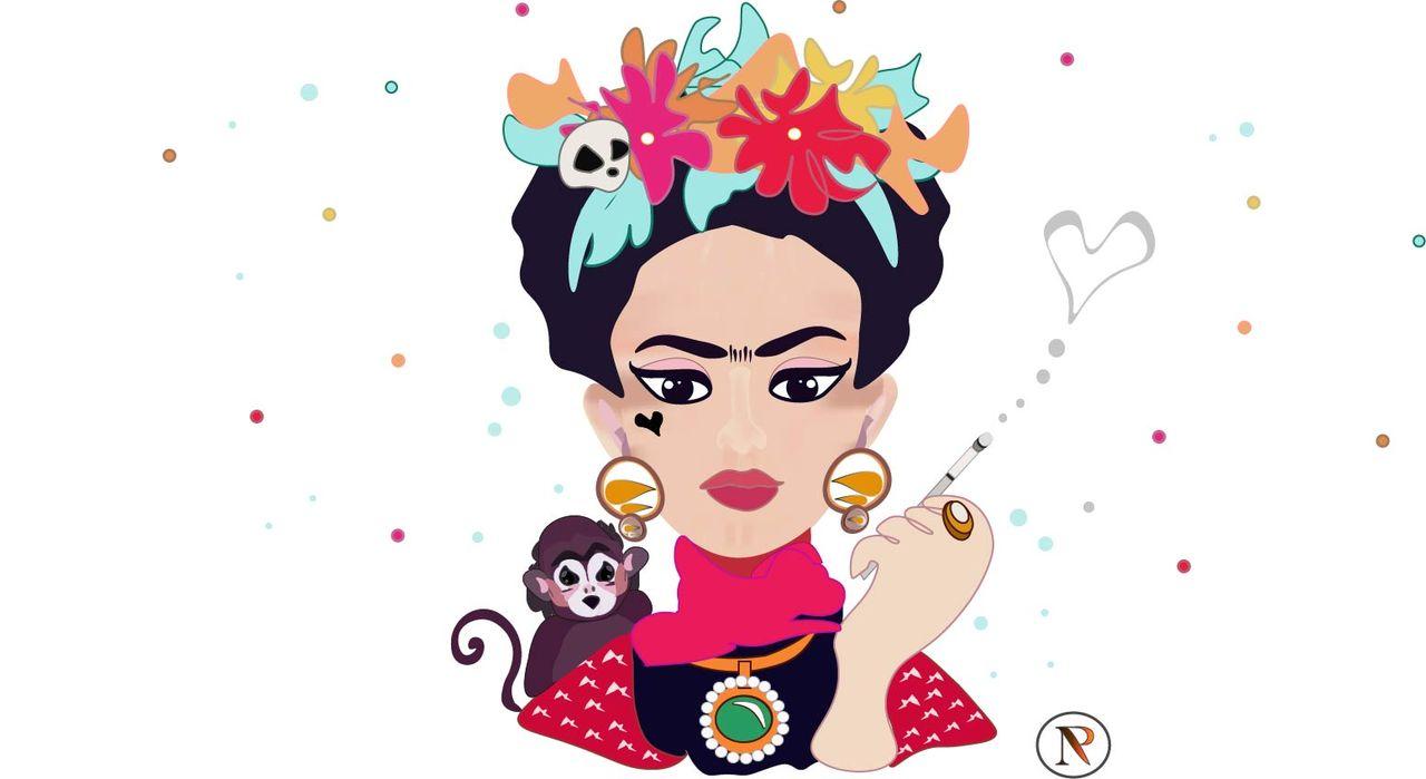 Frida Khalo by NP - Illustration vectorielle