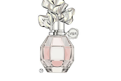 Illustration : Flacon de parfum V&R by NP