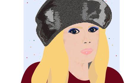 Autoportrait - Illustration