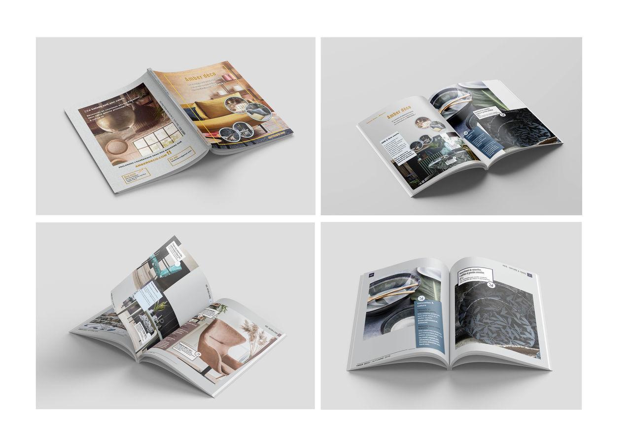 Catalogue Amber Déco - Mise en page - Edition