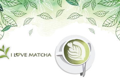 Bannière : illustration pour du Matcha