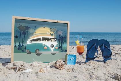 Illustration des vacances idéales