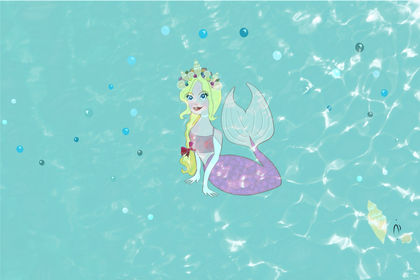 I want to be a mermaid!
