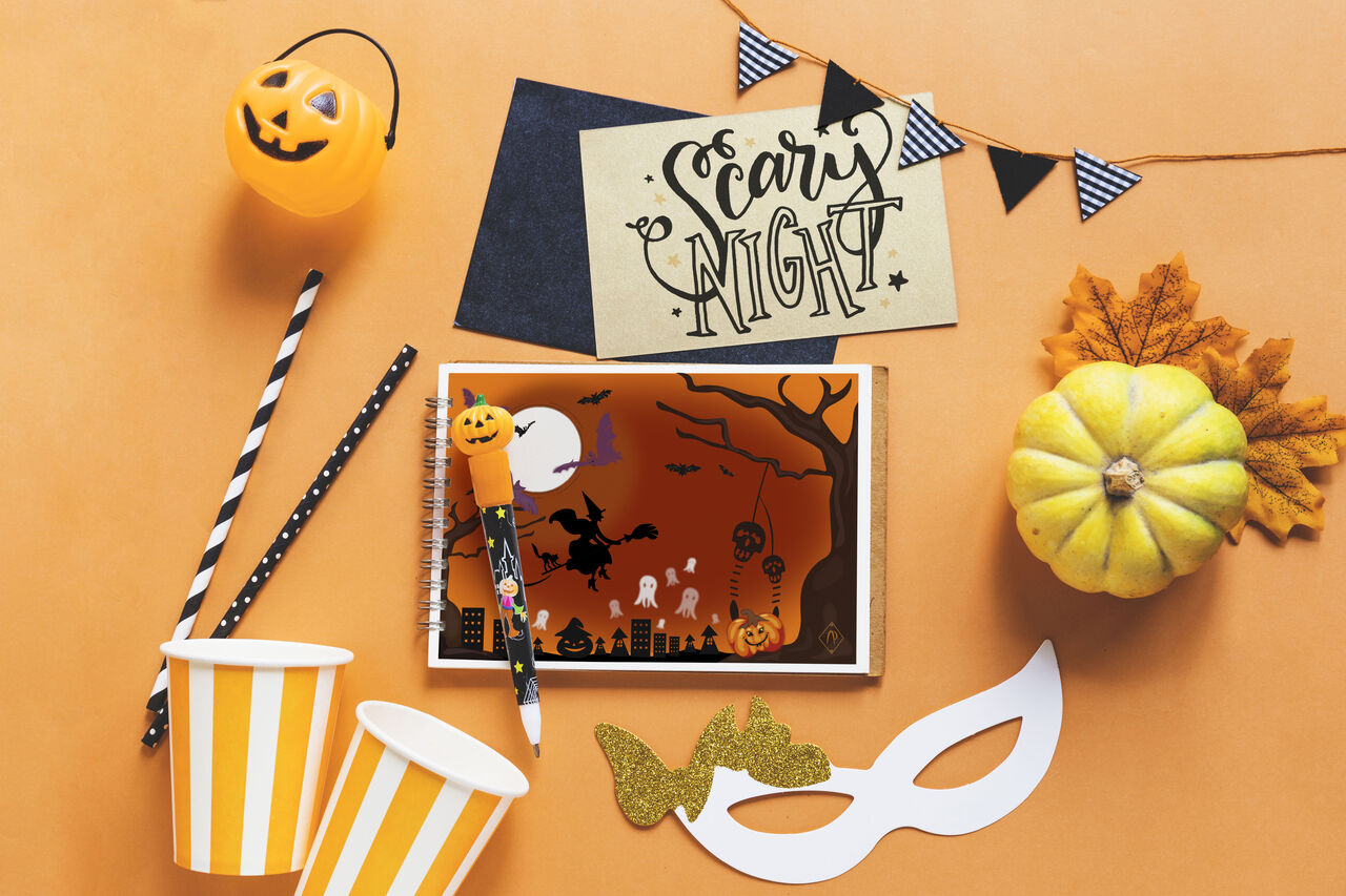 Illustration& mise en page : Halloween Party