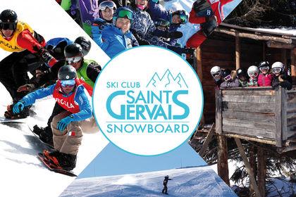 AFFICHE SNOWBOARD CLUB