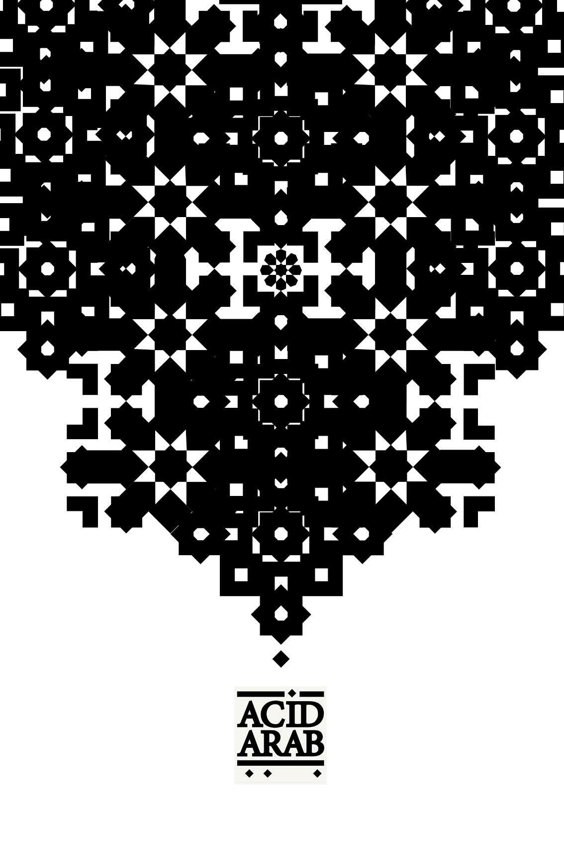 Poster / Acid Arab / projet personnel