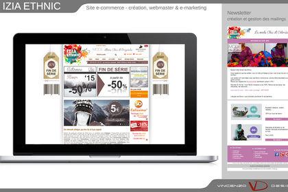 Site e-commerce prêt à porter