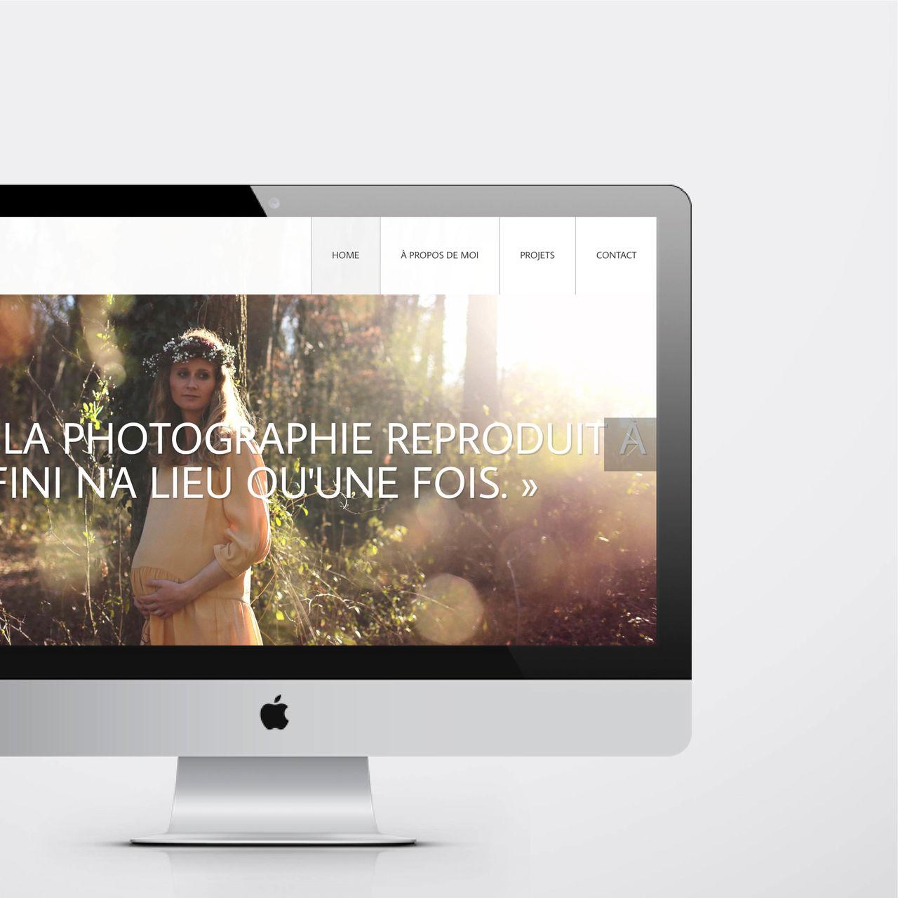 Site internet Kathelyne photographie