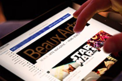 Création site internet lefictionaute.com