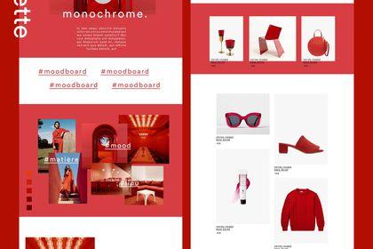 Goodmoods maquette site web