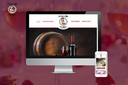 Site Vitrine cave de vin