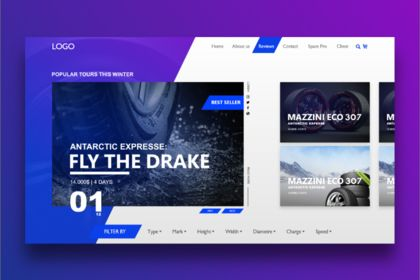 Landing Page New Concept