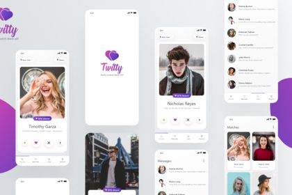 UI UX Design [ Networking Mobile App]