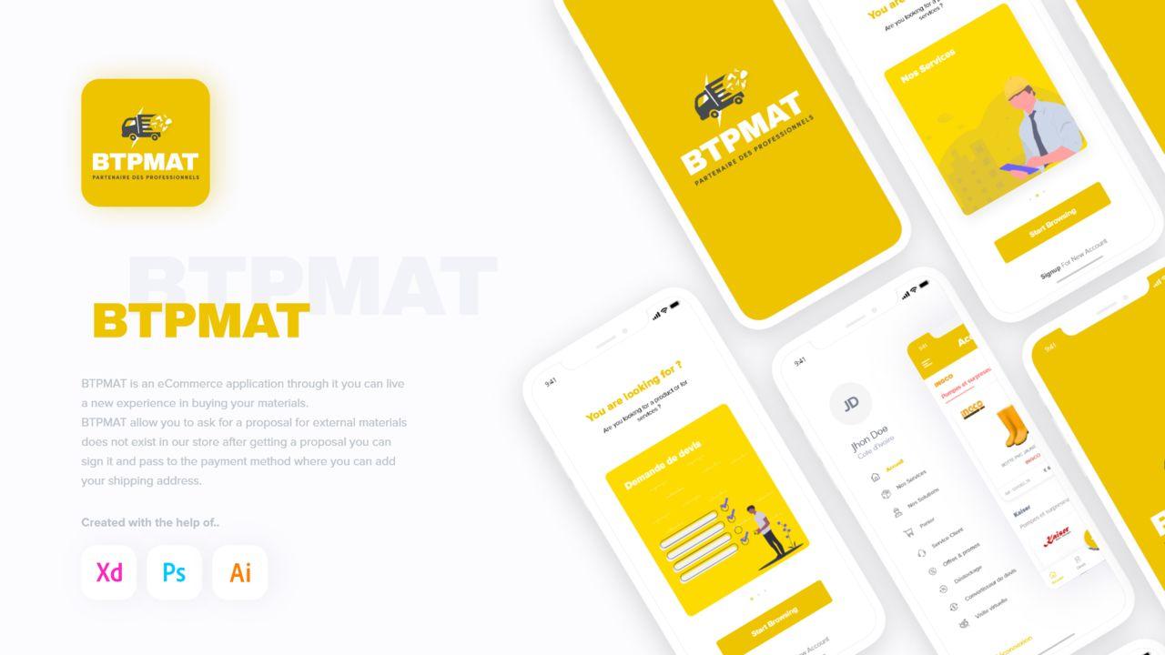 E-commerce Application [BTPMAT]