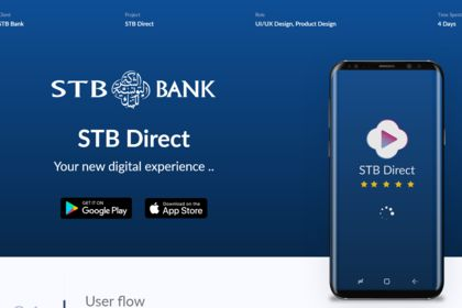 E-Banking Dashboard App for STB Bank