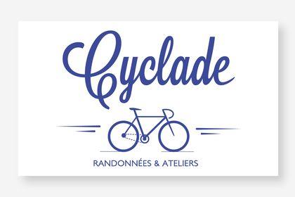 Création logo pour association de randonnées/vélo