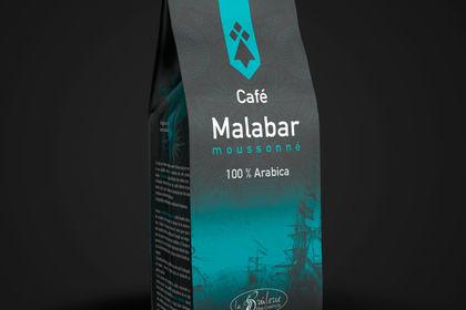 Sacherie haut de gamme de café version turquoise