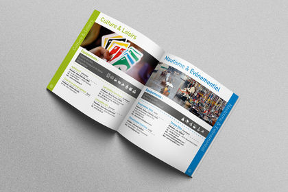 Mise en page de l'annuaire des associations de Dz