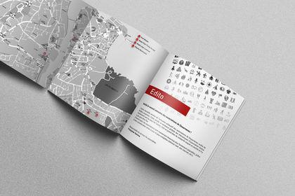 Carte avec rabat + édito annuaire des assos
