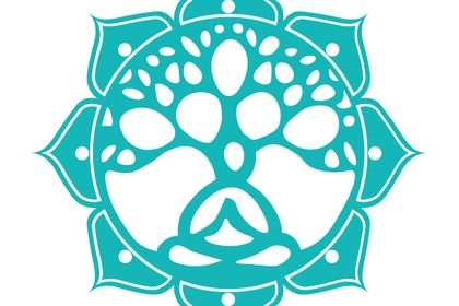 Logo pour professeur de yoga