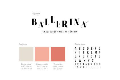 Charte Graphique et Logo - Ballerina