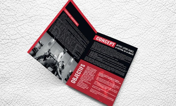 Brochure MYTHIC LATINO DANCE