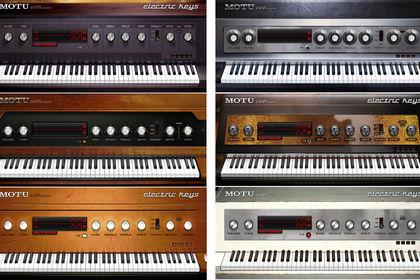 Claviers virtuels - Motu