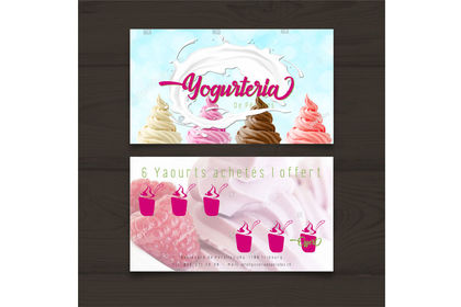 Carte de fidélité Yogurteria