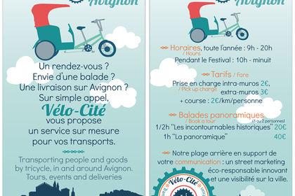 Charte graphique et flyer Vélo-Cité