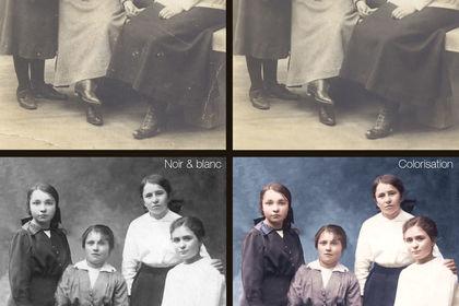Restauration de vieille photo