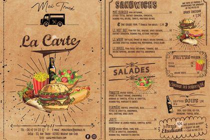FLYER - FOOD TRUCK POUR Maï Truck