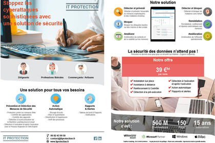 FLYER recto verso pour IT protection
