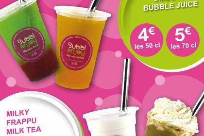 AFFICHE EXTÉRIEUR pour Bubblenjoy