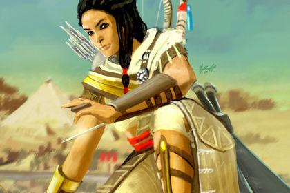 Assassin's creed origin Aya