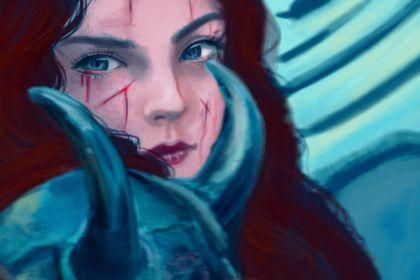 Fan art Brenda the red