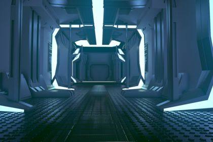 Couloir sci-fi