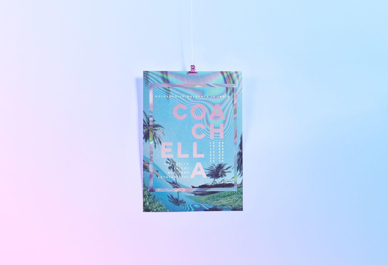Coachella posters