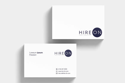HireOn (Client from designwrowd)