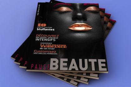 Couverture magazine pause beaute