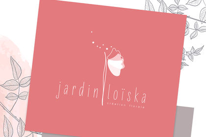 Logo jardin loïska