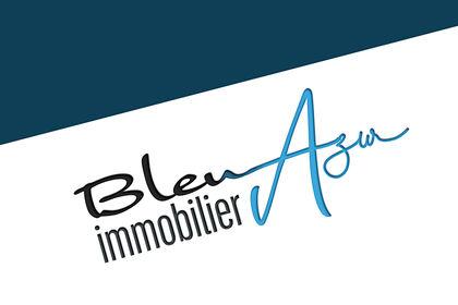 Logo Bleu Azur Immobilier